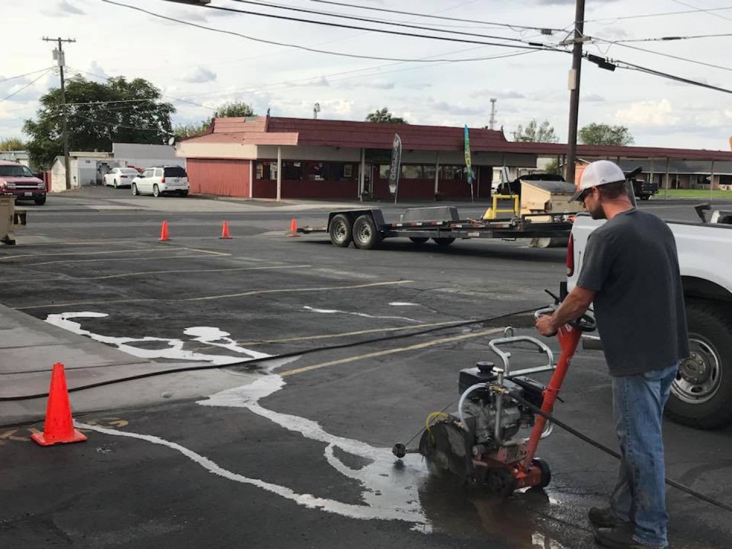 What kind of asphalt issues can we fix?